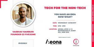 Tech For the Non-Tech @ Aeona | Surry Hills | New South Wales | Australia